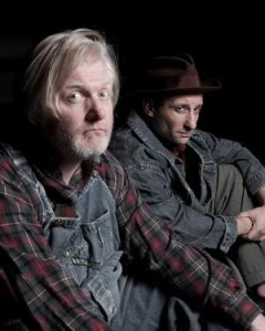 "Jim Hopkins and Jeremy Dubin in ""Of Mice and Men"""