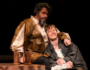 "Matthew Johnson and Justin McCombs in ""Henry IV"""