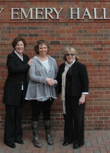 CCM's Patricia Linhardt, Rising Star Recipient Kaitlyn Adams, and LCT's Cathy Springfield