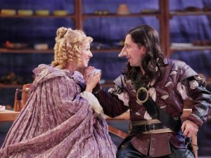 "Jeremy Dubin and Caitlin McWethy in ""Cyrano De Bergerac"""