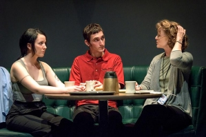 "Molly Israel, Patrick Phillips, and Annie Fitzpatrick in ""Luna Gale"""