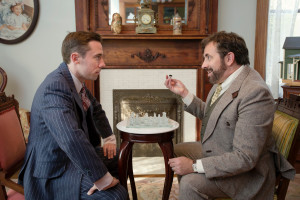 "Brent Alan Burington and Rory Sheridan in Carnegie's upcoming ""Sleuth"""