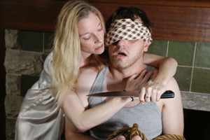 """Eileen Earnest and Will Reed in """"Extremities"""""""
