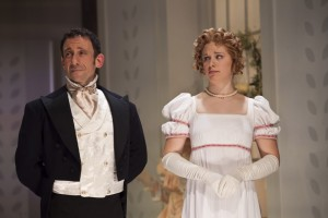"Jeremy Dubin and Courtney Lucien in CSC's ""Emma"""